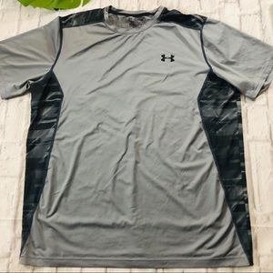 UNDER ARMOUR GRAY LOOSE DRY FIT SHORT SLEEVE TEE